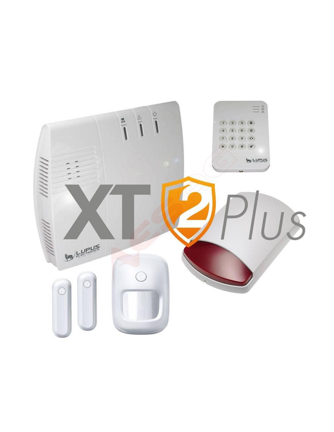 lupusec xt2 plus starter pack mit au ensirene lu12045 2. Black Bedroom Furniture Sets. Home Design Ideas