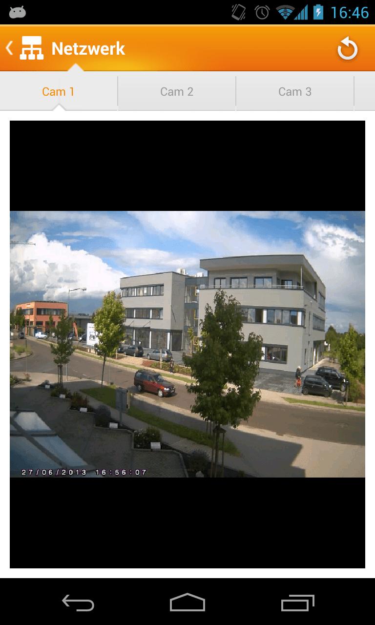 Lupusec XT2 PLUS App Kamera